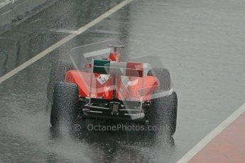 World © Octane Photographic 2011.  Formula 1 testing Saturday 12th March 2011 Circuit de Catalunya. Ferrari 150° Italia - Fernando Alonso. Digital ref : 0018CB1D4381