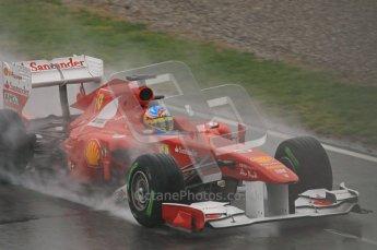 World © Octane Photographic 2011. Formula 1 testing Saturday 12th March 2011 Circuit de Catalunya. Ferrari 150° Italia - Fernando Alonso. Digital ref : 0018CB1D4404
