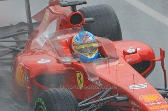 World © Octane Photographic 2011. Formula 1 testing Saturday 12th March 2011 Circuit de Catalunya. Ferrari 150° Italia - Fernando Alonso. Digital ref : 0018CB1D4445