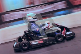 © Octane Photographic Ltd. 2012. Autosport International 2012 Celebrity Karting for the Race To Recovery charity. 12th January 2012. Digital Ref : 0206cb1d0591