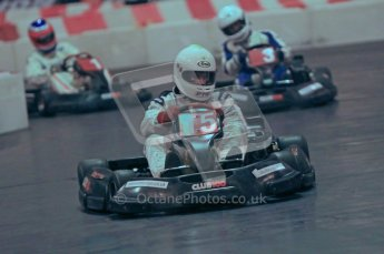 © Octane Photographic Ltd. 2012. Autosport International 2012 Celebrity Karting for the Race To Recovery charity. 12th January 2012. Digital Ref : 0206cb1d1358