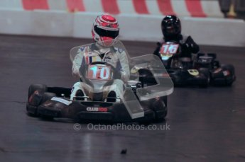 © Octane Photographic Ltd. 2012. Autosport International 2012 Celebrity Karting for the Race To Recovery charity. 12th January 2012. Digital Ref : 0206cb1d1403
