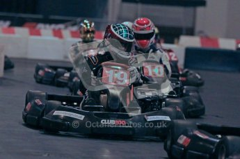 © Octane Photographic Ltd. 2012. Autosport International 2012 Celebrity Karting for the Race To Recovery charity. 12th January 2012. Digital Ref : 0206cb1d1490