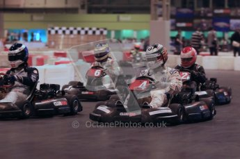 © Octane Photographic Ltd. 2012. Autosport International 2012 Celebrity Karting for the Race To Recovery charity. 12th January 2012. Digital Ref : 0206cb1d1666