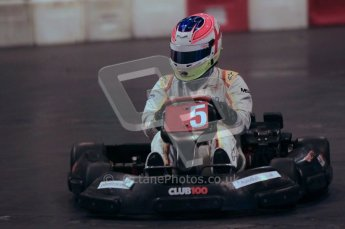 © Octane Photographic Ltd. 2012. Autosport International 2012 Celebrity Karting for the Race To Recovery charity. 12th January 2012. Digital Ref : 0206cb1d1745