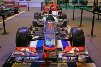 © Octane Photographic Ltd. 2012. Autosport International F1 Cars Old and New. McLaren show car nose. Digital Ref : 0207cb7d1821