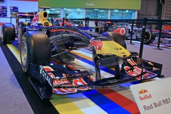 © Octane Photographic Ltd. 2012. Autosport International F1 Cars Old and New. Red Bull show car. Digital Ref : 0207cb7d1828