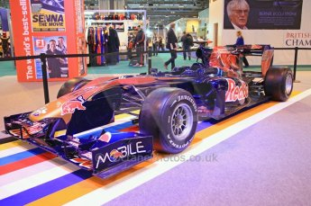 © Octane Photographic Ltd. 2012. Autosport International F1 Cars Old and New. Torro Roso show car. Digital Ref : 0207cb7d1839