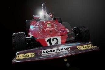 © Octane Photographic Ltd. 2012. Autosport International F1 Cars Old and New. Niki Lauda Ferrari 312T on the FIA Historic F1 display. Digital Ref : 0207cb7d1937