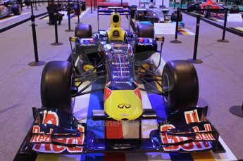 © Octane Photographic Ltd. 2012. Autosport International F1 Cars Old and New. Red Bull show car. Digital Ref : 0207lw7d2448