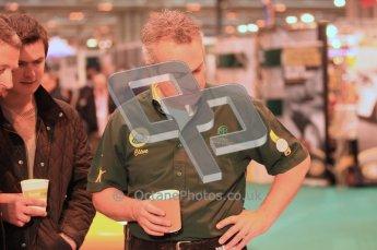 Autosport International 2012 - Clive Chapman. Digital Ref : 0214cb1d0817