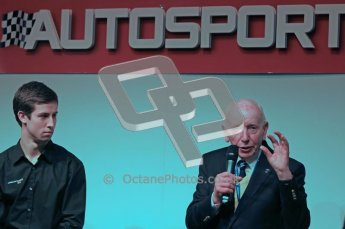 Autosport International 2012 - John Surtees and Alex Simms. Digital Ref : 0214cb7d0789