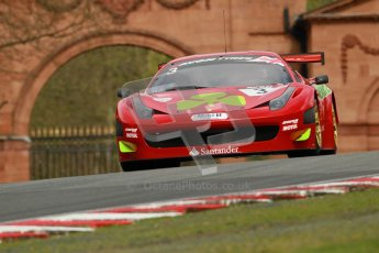 © 2012 Octane Photographic Ltd. Saturday 7th April. Avon Tyres British GT Championship - Practice 2. Digital Ref : 0280lw1d2584