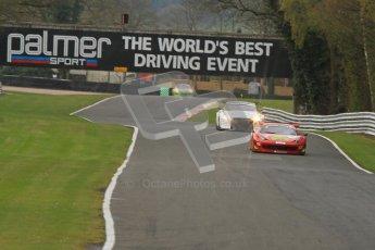 © 2012 Octane Photographic Ltd. Saturday 7th April. Avon Tyres British GT Championship - Practice 2. Digital Ref : 0280lw7d8216