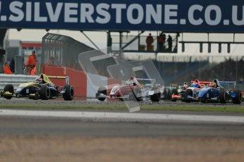 © Octane Photographic Ltd 2012. Formula Renault BARC - Race 2. Silverstone - Sunday 7th October 2012. Kieran Vernon - Hillsport. Digital Reference: 0545lw1d2376