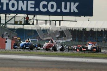 © Octane Photographic Ltd 2012. Formula Renault BARC - Race 2. Silverstone - Sunday 7th October 2012. Kieran Vernon - Hillsport. Digital Reference: 0545lw1d2408