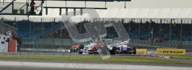 © Octane Photographic Ltd 2012. Formula Renault BARC - Race 2. Silverstone - Sunday 7th October 2012. Kieran Vernon - Hillsport. Digital Reference: 0545lw1d2467