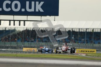 © Octane Photographic Ltd 2012. Formula Renault BARC - Race 2. Silverstone - Sunday 7th October 2012. Kieran Vernon - Hillsport. Digital Reference: 0545lw1d2606