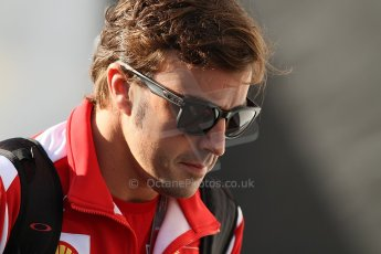 World © Octane Photographic Ltd. Belgian GP Spa - Sunday 2nd September 2012 - F1 Paddock - Fernando Alonso - Ferrari. Digital Ref :