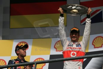 © 2012 Octane Photographic Ltd. Belgian GP Spa - Sunday 2nd September 2012 - F1 Podium. Digital Ref :