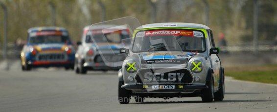© Octane Photographic Ltd. Mini Se7en Championship practice session 21st April 2012. Donington Park. Leon Wightman. Digital Ref : 0298lw1d1044