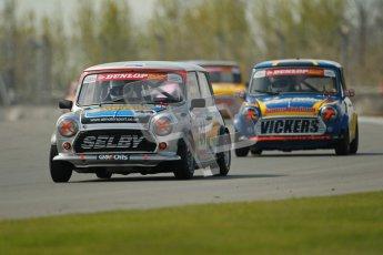 © Octane Photographic Ltd. Mini Se7en Championship practice session 21st April 2012. Donington Park. Adam Smith. Digital Ref : 0298lw1d1051