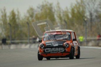 © Octane Photographic Ltd. Mini Se7en Championship practice session 21st April 2012. Donington Park. Julian Proctor. Digital Ref : 0298lw1d1080