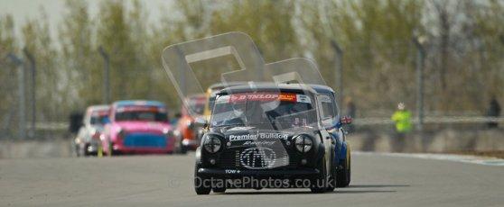 © Octane Photographic Ltd. Mini Se7en Championship practice session 21st April 2012. Donington Park. Paul Spark. Digital Ref : 0298lw1d1137