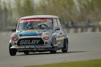 © Octane Photographic Ltd. Mini Se7en Championship practice session 21st April 2012. Donington Park. Adam Smith. Digital Ref : 0298lw1d1152