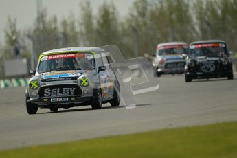 © Octane Photographic Ltd. Mini Se7en Championship practice session 21st April 2012. Donington Park. Leon Wightman. Digital Ref : 0298lw1d1223