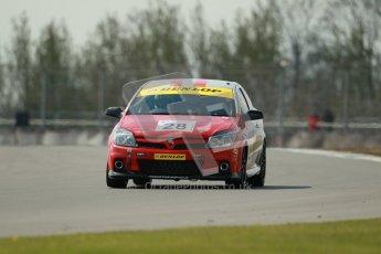 © Octane Photographic Ltd. BARC Dunlop Production Touring Car Trophy practice session 21st April 2012. Donington Park. Steve Johnson, Vauxhall Astra VXR. Digital Ref : 0298lw1d1405