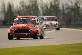 © Octane Photographic Ltd. Mini Miglia practice session 21st April 2012. Donington Park. Tony Lemay, Delmonte Garage. Digital Ref : 0298lw1d1429