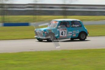 © Octane Photographic Ltd. Mini Se7en Championship practice session 21st April 2012. Donington Park. Kelvin Edgar. Digital Ref : 0298lw7d6143