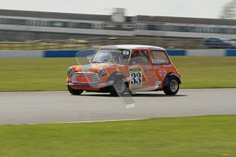 © Octane Photographic Ltd. Mini Miglia practice session 21st April 2012. Donington Park. Pater Baldwin, Baldwin Motorsport. Digital Ref : 0298lw7d6375