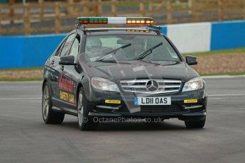 © Octane Photographic Ltd. BritCar Production Cup Championship race. 21st April 2012. Donington Park. Safety Car. Digital Ref : 0300lw1d2099