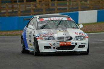 © Octane Photographic Ltd. BritCar Production Cup Championship race. 21st April 2012. Donington Park. Guy Povey, Povey Motorsport, BMW M3 CSL. Digital Ref : 0300lw1d2110
