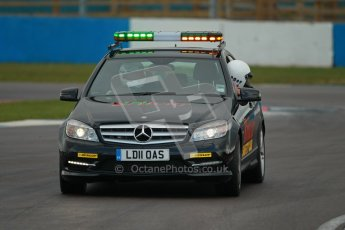 © Octane Photographic Ltd. BritCar Production Cup Championship race. 21st April 2012. Donington Park. Safety Car. Digital Ref : 0300lw1d2278