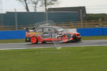 © Octane Photographic Ltd. BritCar Production Cup Championship race. 21st April 2012. Donington Park. Kevin Clarke/Wayne Gibson, Intersport Racing, BMW M3. Digital Ref : 0300lw7d7188