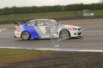© Octane Photographic Ltd. BritCar Production Cup Championship race. 21st April 2012. Donington Park. Guy Povey, Povey Motorsport, BMW M3 CSL. Digital Ref : 0300lw7d7317