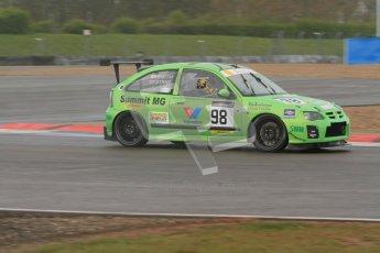 © Octane Photographic Ltd. BritCar Production Cup Championship race. 21st April 2012. Donington Park. Gary Smith/Byrne, MG ZR. Digital Ref : 0300lw7d7370