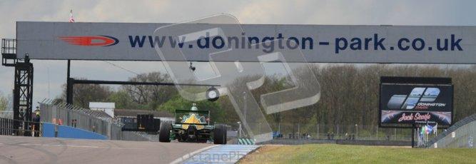 © Octane Photographic Ltd. BritCar Weekend - BARC Intersteps Championship. 21st April 2012. Donington Park. Matt Parry, Mygale FB02, Fortec. Digital Ref : 0299lw7d6957