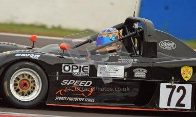 © Carl Jones/Octane Photographic Ltd. 20th October 2012. Graham Hill, Radical Prosport, OSS, Donington Park. Digital Ref : 0549ce7d1578