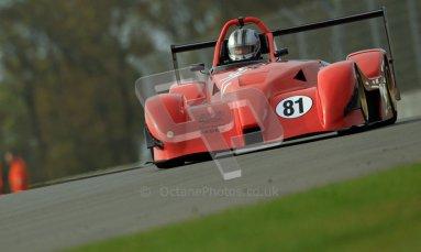 © Carl Jones/Octane Photographic Ltd. 20th October 2012. Paul Gibson, Gibson Nemesis Proto K11P, OSS, Donington Park. Digital Ref : 0549ce7d1798