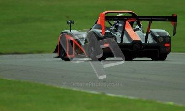 © Carl Jones/Octane Photographic Ltd. 20th October 2012. Darcy Smith, Radical SR4, OSS, Donington Park. Digital Ref : 0549ce7d1890