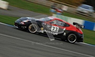 © Carl Jones/Octane Photographic Ltd. 20th October 2012. Peter Pyzera, Nissan 370z, OSS, Donington Park. Digital Ref : 0549img_4015