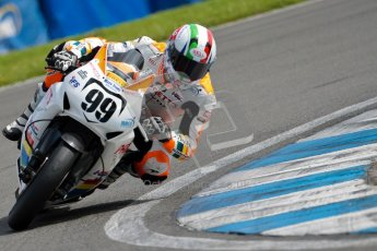 © Octane Photographic Ltd/Chris Enion 2012. British Superbikes test day – Donington Park, Tuesday 7th August 2012. Luca Scassa - Padgett's Honda. Digital Ref : 0450CE1D0081
