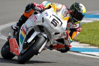© Octane Photographic Ltd/Chris Enion 2012. British Superbikes test day – Donington Park, Tuesday 7th August 2012. Ian Lowry - Padgett's Honda. Digital Ref : 0450CE1D0118