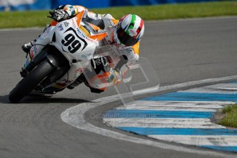 © Octane Photographic Ltd/Chris Enion 2012. British Superbikes test day – Donington Park, Tuesday 7th August 2012. Luca Scassa - Padgett's Honda. Digital Ref : 0450CE1D0162