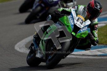 © Octane Photographic Ltd/Chris Enion 2012. British Superbikes test day – Donington Park, Tuesday 7th August 2012. Danny Buchan - MSS Bathams Kawasaki. Digital Ref : 0450CE1D0246