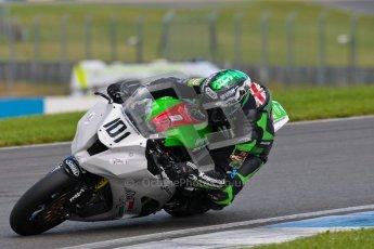 © Octane Photographic Ltd/Chris Enion 2012. British Superbikes test day – Donington Park, Tuesday 7th August 2012. Gary Mason - Primo Bournmouth Kawasaki. Digital Ref : 0450CE1D0580